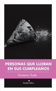 Personas que lloran en sus cumpleaños