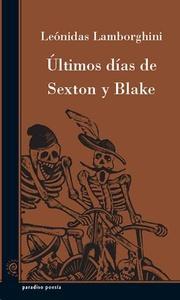 Últimos días de Sexton y Blake
