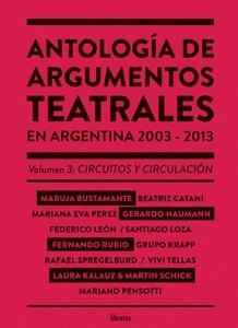 Antología de argumentos teatrales 3