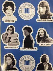 stickers escritoras