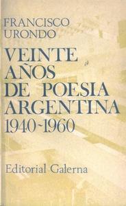 Veinte años de poesía argentina 1940