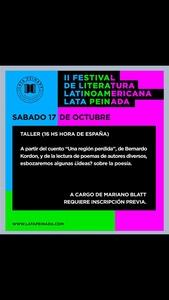 Taller Blatt Festival LATAM