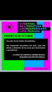 Taller Gerber Bicecci Festival UE