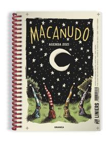 Agenda 2021 Macanudo anillada noche