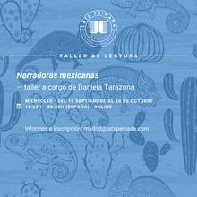 Narradoras mexicanas DTO. LATAM