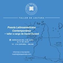 Poesía contemporánea latinoamericana - Impulso lectura FRACCIONADO (LATAM)