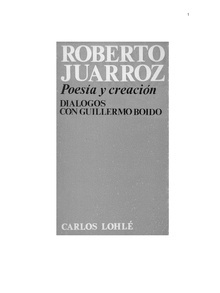 Poesía y creación
