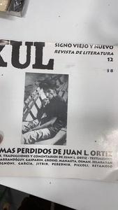 XUL Los poemas perdidos de Juan L. Ortiz